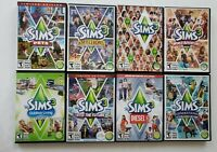 *The Sims*(2&3) PC&Mac Video Games *HUGE Value Bundle*(16 Different Titles+Plus)