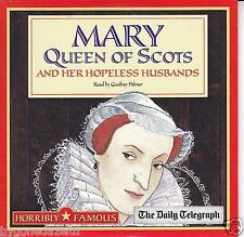 MARY QUEEN OF SCOTS  HORRIBLE FAMOUS/HORRIBLE HISTORIES PROMO AUDIO CD FREE UK P