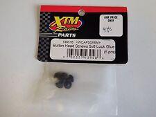 XTM Racing Parts - Button Head Screws 5x6 Lock Glue (5pcs) - Model # 148516