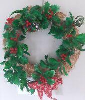 Vintage Christmas Decoration Used