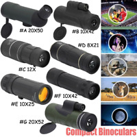 Mini Portable HD Optical Monocular Hunting Camping Concert Telescope Outdoor Use