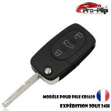 CLE PLIP Volkswagen Jetta Polo Golf Touareg 3 boutons pour pile CR1620 @Pro-Plip