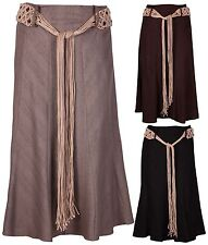 Casual Linen Skirts Plus Size for Women