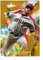 Aaron Civale 2020 Topps Inception 5x7 Gold #20 /10 Indians