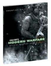 """""""CALL OF DUTY: MODERN WARFARE 2 PRESTIGE EDITION"""" 2009 1ST ED HC VG+ GUIDE"""