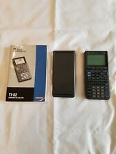 Texas Insturments Ti-82 Graphing Calculator W/Guidebook