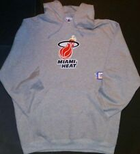 Miami Heat Majestic Mens NBA Embroidered Pullover Hoodie Sweatshirt Size 3XL