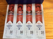 2017 MONTREAL CANADIENS NHL PLAYOFF TICKET GUY CARBONEAU