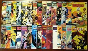 Jonny Quest #1-31 + JQ Classics #1-3, Missing #26, VF+, Comico Comics 1986 SA226