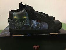 King Diamond Abigail Circa Combat Skateboarding Shoes Mercyful Fate size 9.5 new