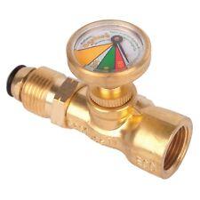 Gasfuse SAFETY GAUGE GFHR1 100% Emergency Shut Off, Fits All Cylinder Sizes