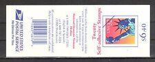 Stati Uniti Michel numero diapositive foglio 38 D (20 Marchi) post freschi (interno: 089) wellenförm