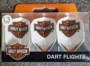 Flights by L-Style - Shape  -  Harley Davidson - White