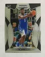 Zion Williamson 2019-20 Panini Prizm Draft Pick Base Rookie Card #64 RC Duke