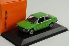 BMW 323i E21 1975 grün 1:43 Minichamps diecast