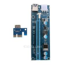 60cm USB3.0 PCE PCI-E Express 1x bis 16x Extender Riser Card Adapter Power