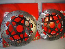 2 Brake Discs Brembo Floating Front 78B70 Motorcycle Moto Guzzi 850 Griso 2006 >