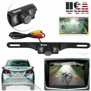 Rear View Camera Backup License Plate Night for Pioneer AVH-1550NEX AVH1550NEX