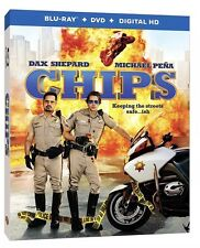 CHIPS(BLU-RAY+DVD+DIGITAL HD)W/SLIPCOVER 2017 BRAND NEW