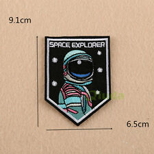 NASA Embroidered Sew Iron On Patch Badge Fabric Bag Clothes Applique Transfer