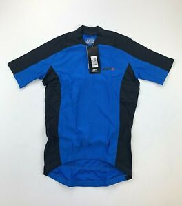 Louis Garneau Mistral Vent Cycling Jersey Blue Men's XS New