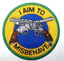 "Serenity/Firefly ""I Aim to Misbehave"" 3.5"" Patch- Usa Mailed (Sepa-033)"
