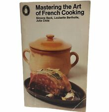 Mastering the Art of French Cooking by Simone Beck Julia Child PB 1976 Vintage