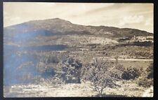 MT. MONADNOCK, NH. C.1936 RPPC~VIEW FROM TROY ROAD