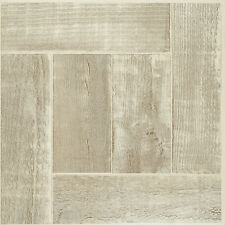 "Saddlewood Woodtone Wood Self-Stick Adhesive Vinyl Floor Tiles -40 Pcs 12"" x 12"""