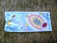 2000 Lei Romania 1999 banknote free shipping Banconota