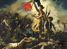 4000 pcs Jigsaw Puzzle Liberty Leading the People Eugne Delacroix Paintings NIB