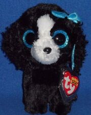 """TY BEANIE BOOS - TRACEY the 6"""" DOG - MINT with MINT TAGS"""