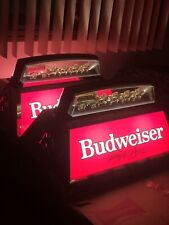 2 Brand New Rare Original Vintage Budweiser � Clydesdale Pool Table Lights! 🎱