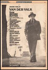 Piet VAN DER VALK__Orig. 1972 Trade AD / TV promo__FRANK FINLAY_NICOLAS FREELING