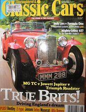 Thoroughbred & Classiccars 98 MC TC v Jowett Jupiter v Triumph Ford Cobra 427