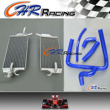for Honda CR250 CR 250 R CR250R 2002-2004 aluminum radiator + hose 02-04 2004 04