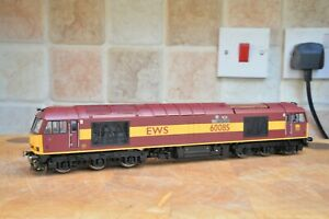 Hornby Class 60 60085 'MINI - Pride of Oxford' EWS Livery pro-renumbered.