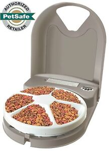 PetSafe Eatwell 5 Meal Timed Automatic Pet Feeder PFD11-13707