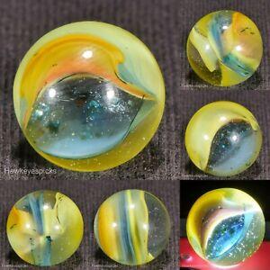 LOVELY HTF Marble King PIXIE AV Cat's Eye Marble 9/16 Mint hawkeyespicks sg