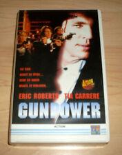 VHS Film - Gunpower - Eric Roberts - Tia Carrere - Action - Videokassette