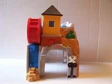 Fisher Price GeoTrax Rocky Falls Railroad Tunnel w Water Wheel Sounds & Motion