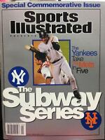 2000 Sports Illustrated Presents Subway Series Derek Jeter Mike Piazza Special