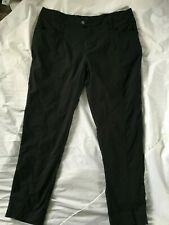 ROYAL ROBBINS Black STRETCH NYLON Outdoor/Casual PANTS Women 16