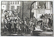 ZELTER WEISSES PFERD IM VATIKAN DRESSUR CAVALLO VATICANO 1701 HERZOG VON ANJOU