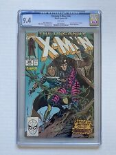 Uncanny X-Men #266, cgc 9.4, White Pages, 1st full appearance of Gambit