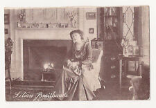 "(e16) Postcard of Miss Lilian Braithwaite ""Yes or No"" Series  c1910  - Used"