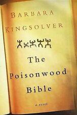 The Poisonwood Bible: A Novel by Barbara Kingsolver (Hardback, 1998)