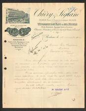 """BORDEAUX (33) VETEMENTS / MODE pour HOMMES & ENFANTS """"THIERY & SIGRAND"""" en 1914"""