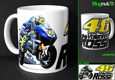 Valentino Rossi #46 - Ceramic Mug - The Doctor Moto GP Yamaha  - 11oz TYP2