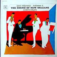 JAZZ ODYSSEY / SOUND OF NEW ORLEANS (1917-47) -  COLUMBIA - 3 LP BOX SET
